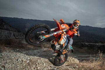 Andrea Verona con  KTM Italia dal 2021