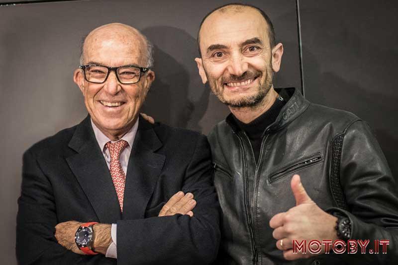 Carmelo Ezpeleta e Claudio Domenicali