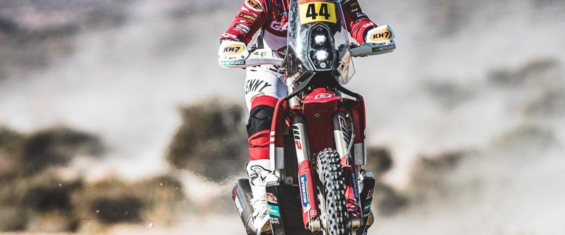 Laya Sanz Dakar rally 2021