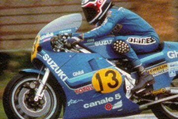 Franco Uncini Suzuki Classe 500 1982