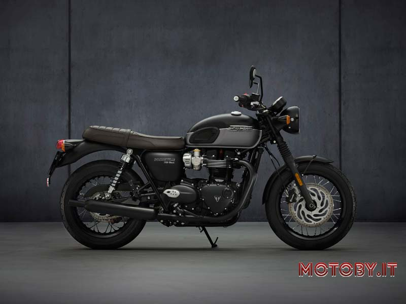 Triumph Bonneville 2021 T120 Black