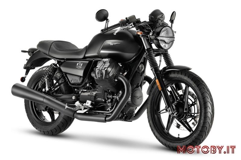 Moto Guzzi V7 Stone accessoriata