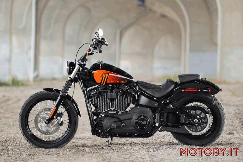 Harley-Davidson Street Bob 114 Model