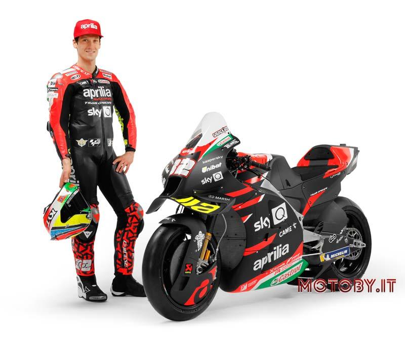 Aprilia RS-GP Lorenzo Savadori