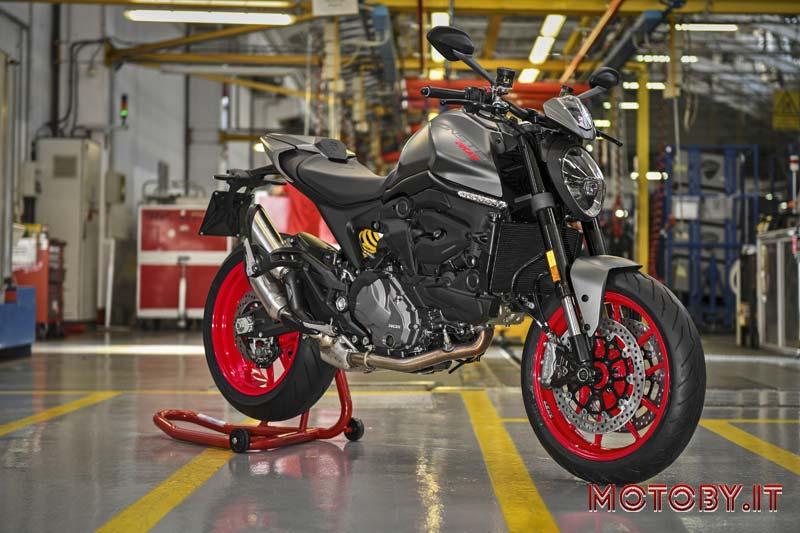 Ducati Monster produzione