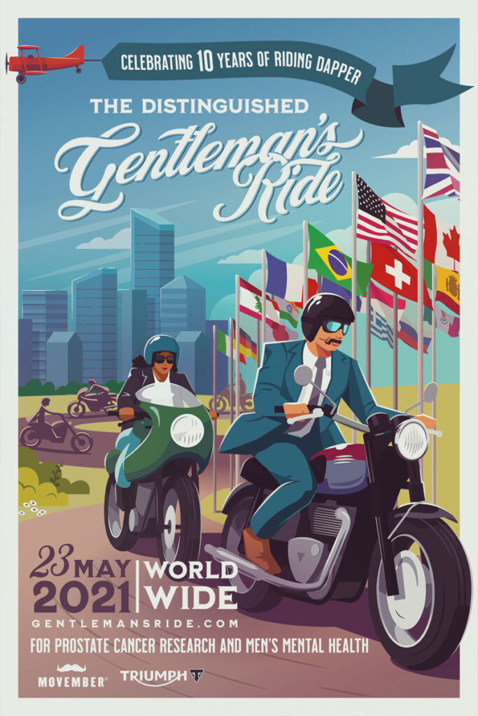 Distinguished Gentleman's Ride 2021