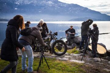 Il coraggio di anadare oltre docu-film moto guzzi 100 anni