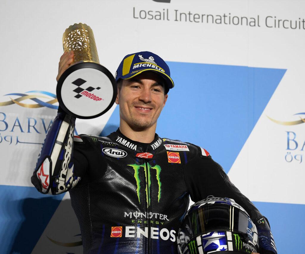 Maverick Vinales Yamaha Moto GP