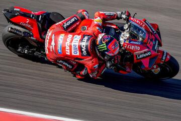Bagnaia 2° su Ducati nella gara MotoGP in Portogallo