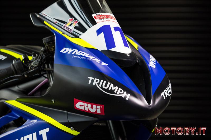 Triumph Street Triple 765 RS Dynavolt