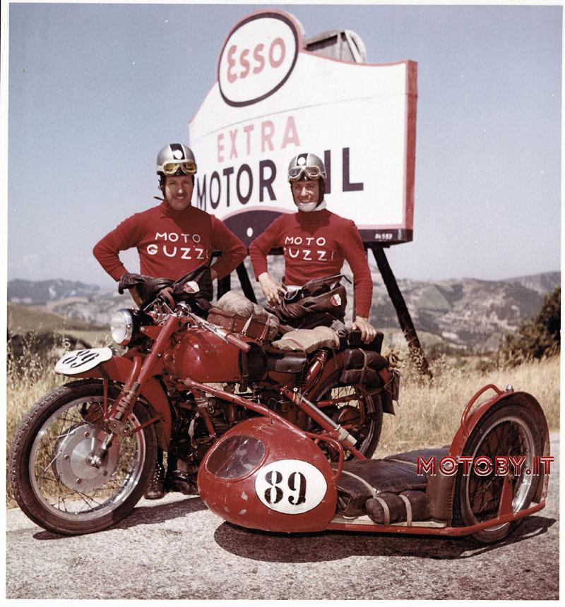 Moto Guzzi Soria sportiva - ACI club storico