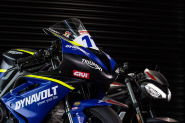 Dynavolt Triumph Street Triple 765 RS