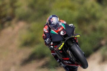 Aprilia Racing e Dovizioso al lavoro sulla RS-GP