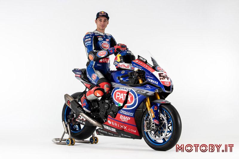 Yamaha Pata Brixx SBK 2021 Razgatlioglu