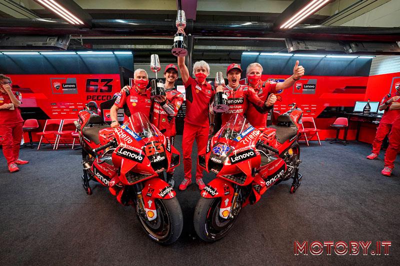 Ducati Lenovo Team - Podio Jerez