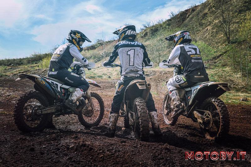 Rockstar Energy Husqvarna Factory Racing e FMF racing