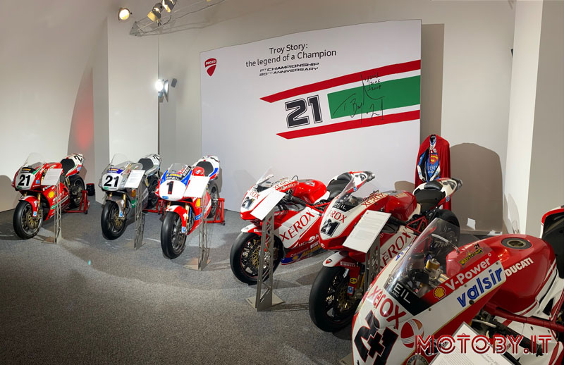 Troy Story: the Legend of a Champion - Ducati