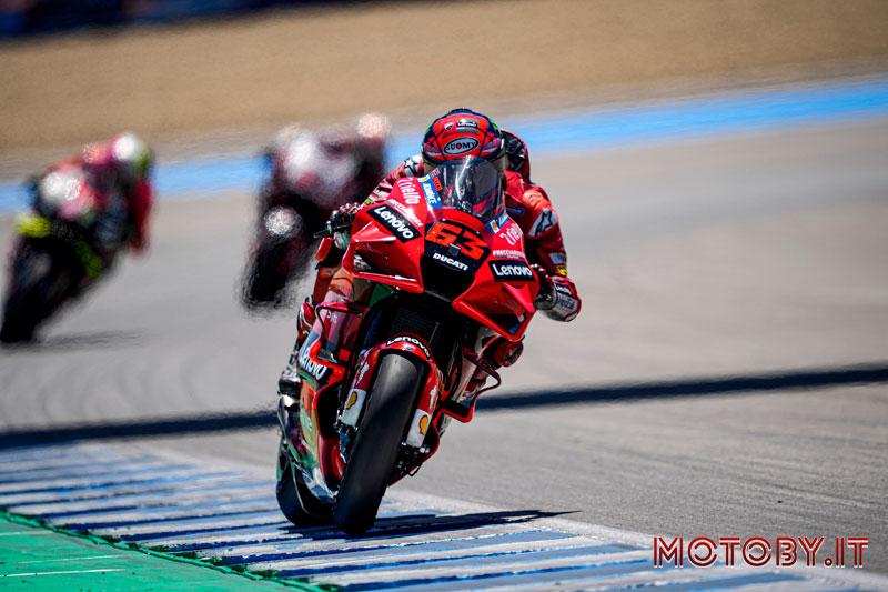 Francesco Bagnaia Podio Ducati - Jerez
