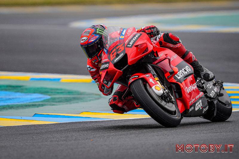 Ducati Lenovo Moto GP Le Mans Pecco Bagnaia