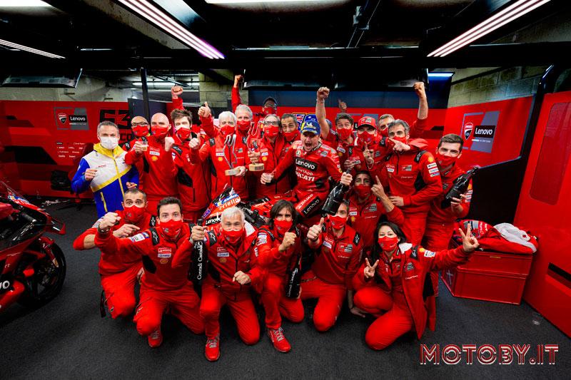 Ducati Lenovo Moto GP Le Mans Team