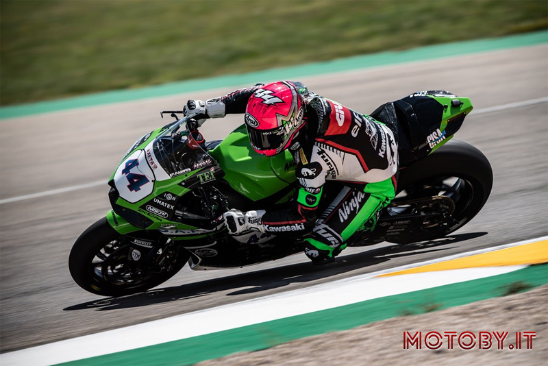 Kawasaki Puccetti Racing Lucas Mahia