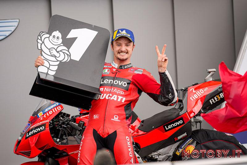 Ducati Lenovo Moto GP Le Mans Jack Miller