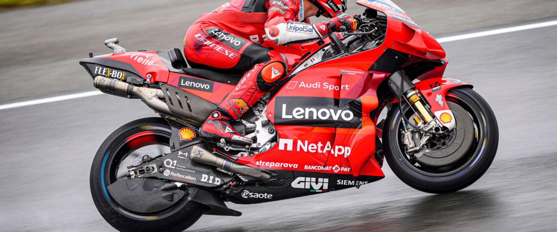 Ducati Lenovo Moto GP Le Mans Miller