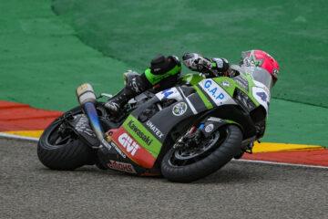 Kawasaki Puccetti Racing conquista i primi punti ad Aragon