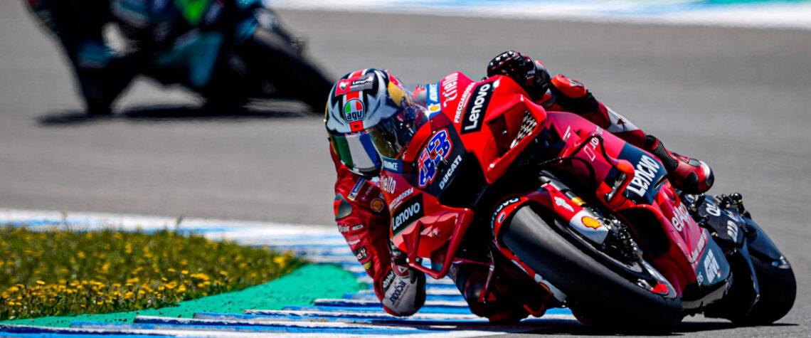 Jack MIller Podio Ducati - Jerez