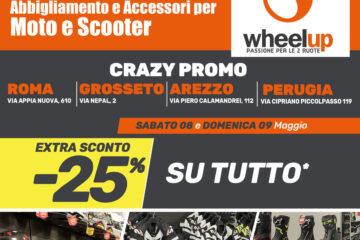 Wheelup Grosseto maggio 2021