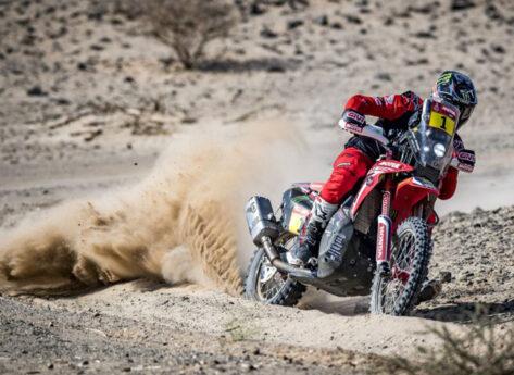 Sonora Rally: Brabec e Cornejo con Monster Energy Honda Team