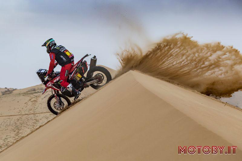 Sonora Rally Line Up Monster Energy Honda Team