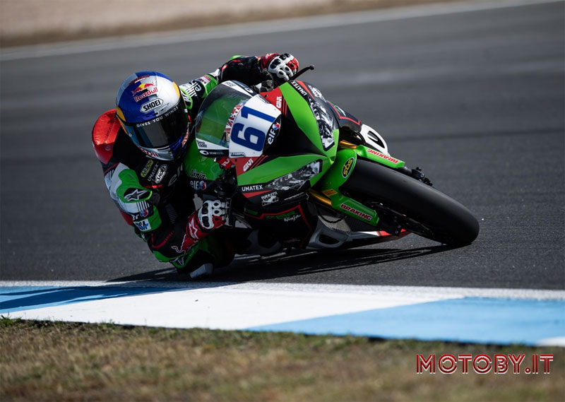 Kawasaki Puccetti Racing Supersport Estoril