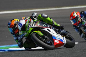 All'Estoril è podio per Oettl di Kawasaki Puccetti Racing