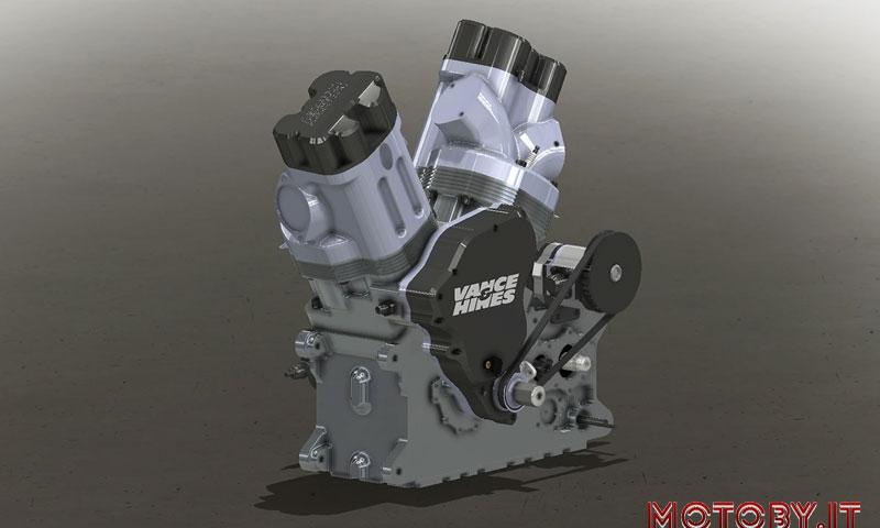 VH160VT Vance&Hines Engine