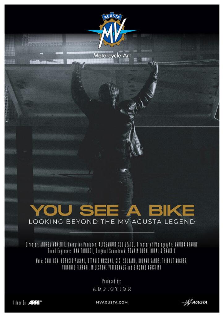 You see a bike - MV Agusta