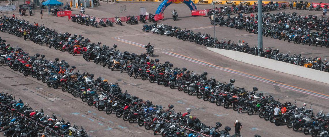 Verona tappa-week end dei motociclisti, oltre 2.000 arrivano in sella in fiera con temperature estive, anche per sabato, la seconda giornata di Moto Bike Expo