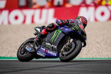 Moto GP: Quartararo e Viñales primo e secondo ad Assen