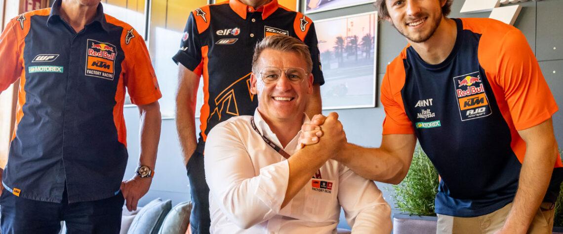 KTM Remy Gardner MotoGP
