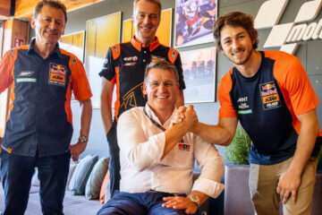 Tech3 KTM Factory Racing MotoGP conferma Gardner per il 2022