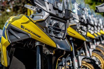 Suzuki alla 3a HAT Sestriere Adventourfest