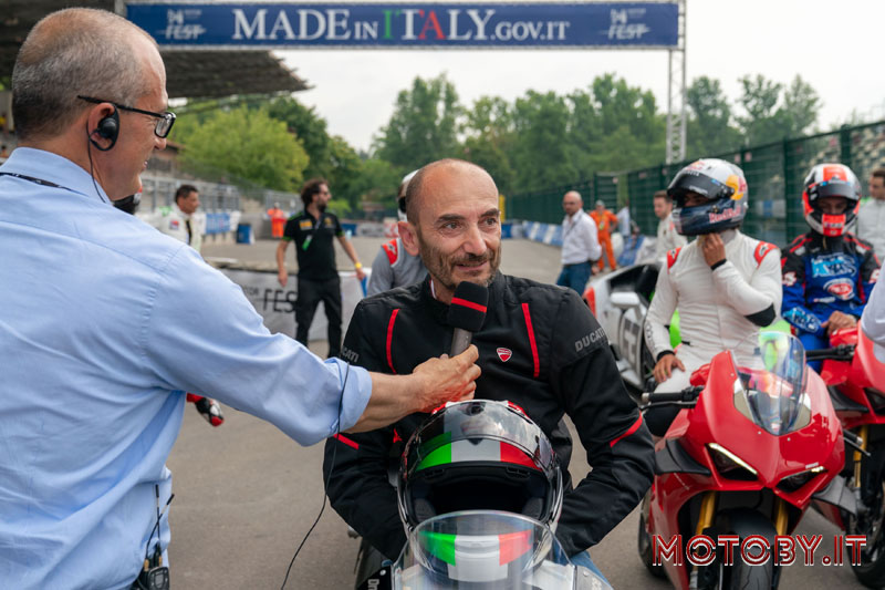 Claudio Domenicali Motor Valley Fest