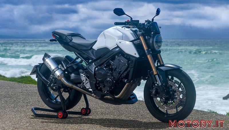 White Edition Honda CB650R