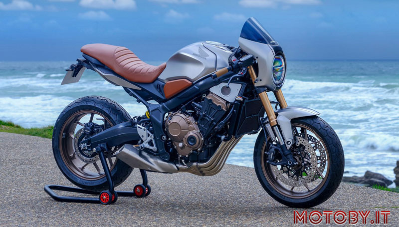 Blanmoto Honda CB650R