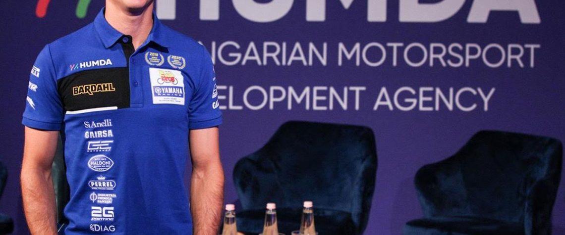 Sebestyen e l'Evan Bros. WorldSSP Yamaha Team