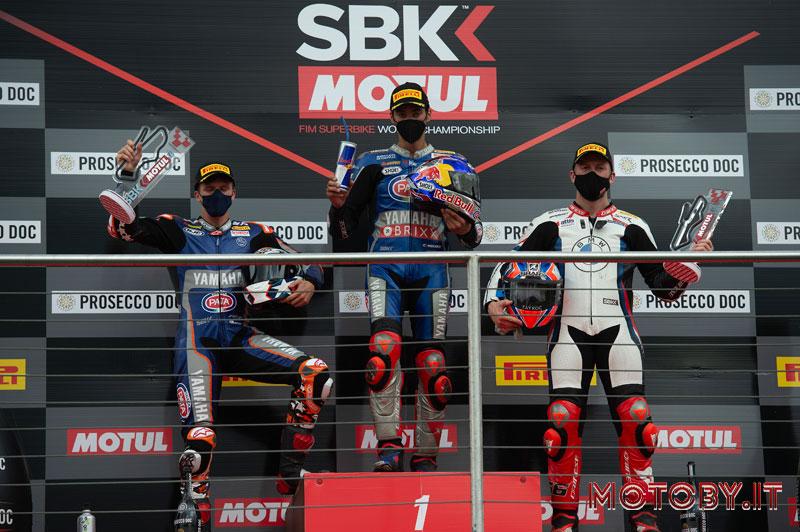 SBK podio