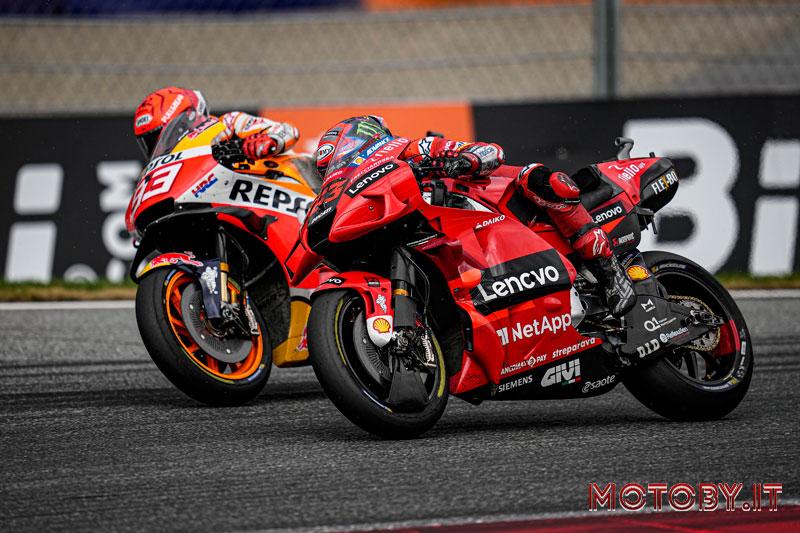Pecco Bagnaia Ducati MotoGP Austria