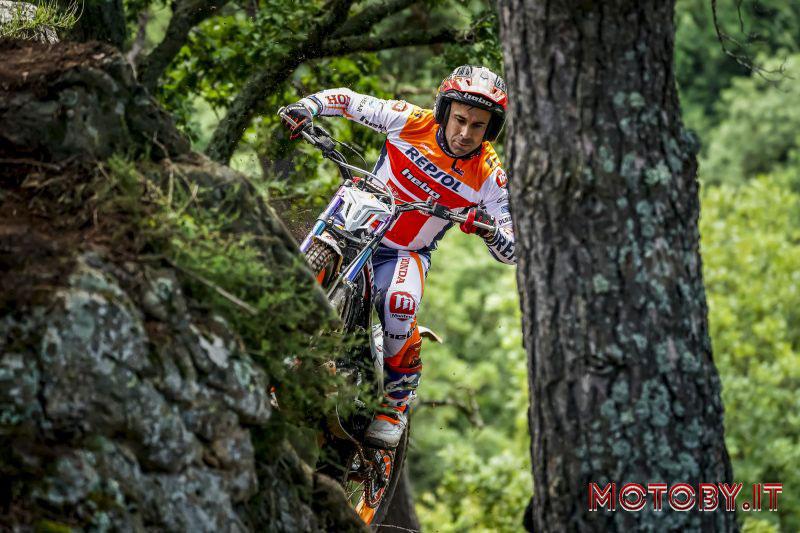 Trail GP Andorra Repsol Honda Team