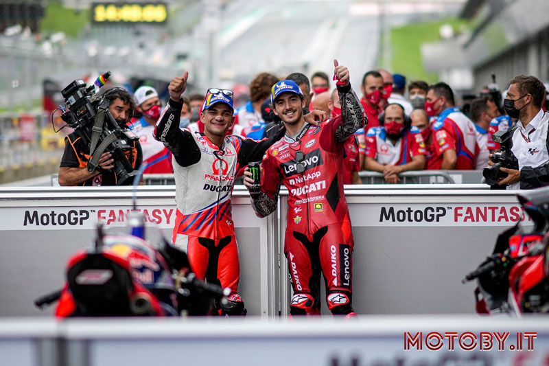Pecco Bagnaia Jorge Martin Ducati MotoGP Austria
