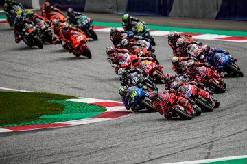 Ducati Lenovo Team: Bagnaia 11°, Miller ritirato